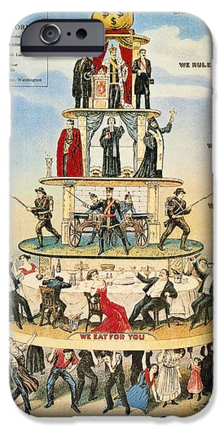 Capitalist Pyramid, 1911 IPhone Case by Granger