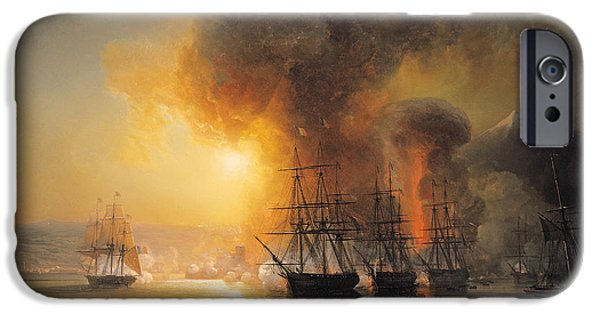 Capture Of The Fort Of Saint Jean Dulloa On 23rd November 1838 IPhone Case by Jean Antoine Theodore Gudin