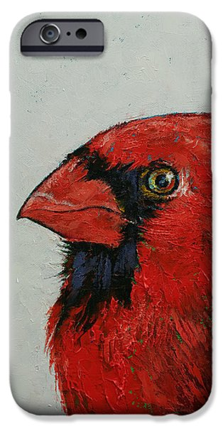 Cardinal IPhone 6s Case by Michael Creese