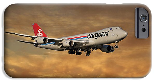 Jet iPhone 6s Case - Cargolux Boeing 747-8r7 2 by Smart Aviation