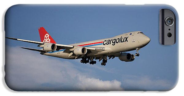 Jet iPhone 6s Case - Cargolux Boeing 747-8r7 4 by Smart Aviation
