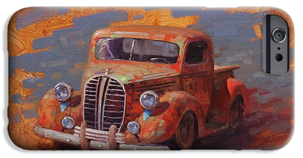 Truck iPhone 6s Case - Cascading Color by Cody DeLong