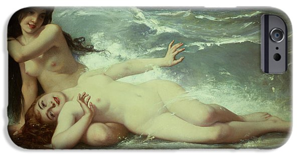 Nudes iPhone 6s Case - Catching Waves  by Paul Albert Laurens