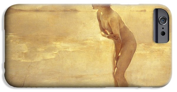Nudes iPhone 6s Case - Chabas, September Morn by Paul Chabas