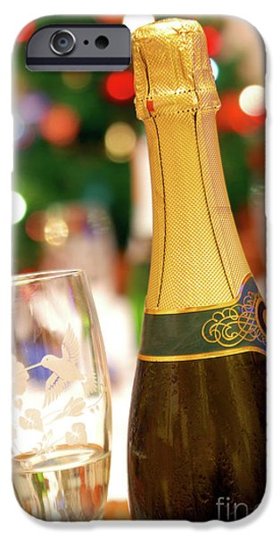 Champagne IPhone Case by Carlos Caetano