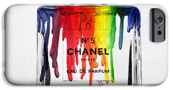 Perfume iPhone 6s Case - Chanel  by Mark Ashkenazi