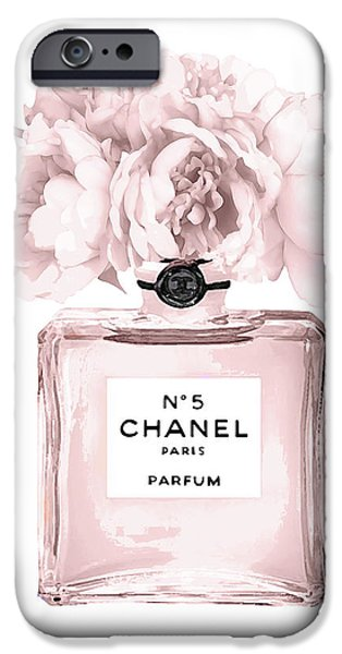 Perfume iPhone 6s Case - Chanel N.5 Perfume 9 by Del Art