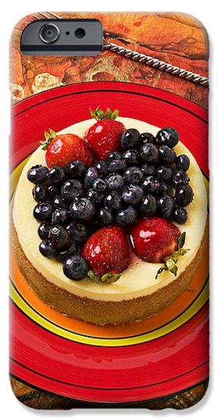 Cheesecake On Red Plate IPhone 6s Case