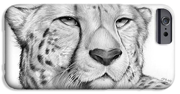 Cheetah iPhone 6s Case - Cheetah by Greg Joens