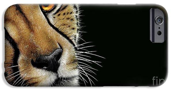 Cheetah iPhone 6s Case - Cheetah by Jurek Zamoyski