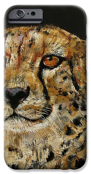Cheetah IPhone 6s Case by Michael Creese
