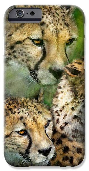 Cheetah Moods IPhone 6s Case by Carol Cavalaris
