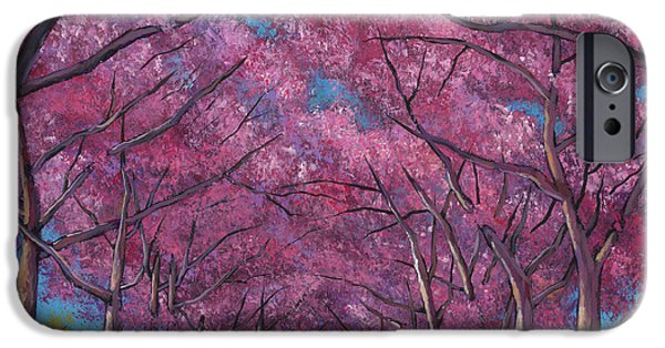 Contemporary Realism iPhone 6s Case - Cherry Lane by Johnathan Harris
