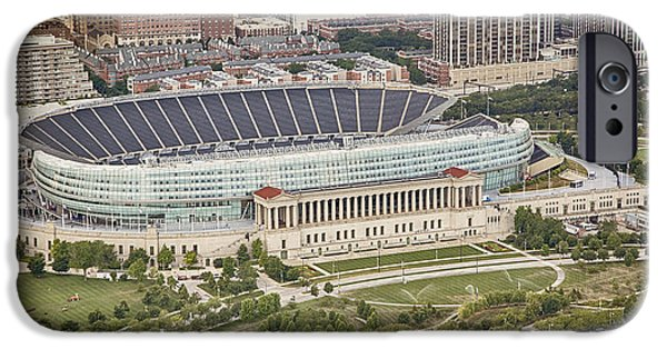 Chicago's Soldier Field Aerial IPhone 6s Case