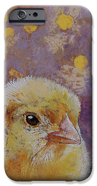 Chicken iPhone 6s Case - Chick by Michael Creese