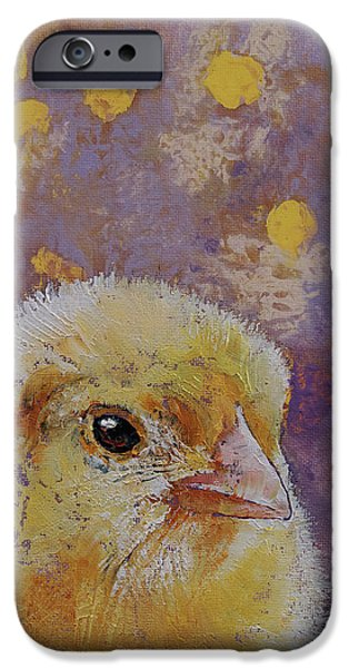 Chick IPhone 6s Case by Michael Creese