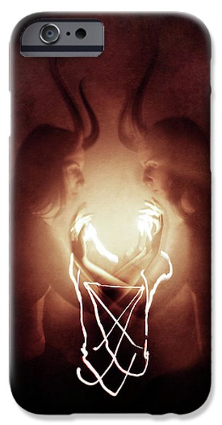 Magician iPhone 6s Case - Children Of Fire by Cambion Art