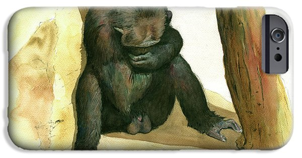 Chimp IPhone 6s Case by Juan Bosco