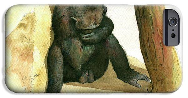 Chimp IPhone 6s Case