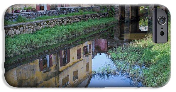 IPhone 6s Case featuring the photograph Chua Cau Reflection by Hitendra SINKAR