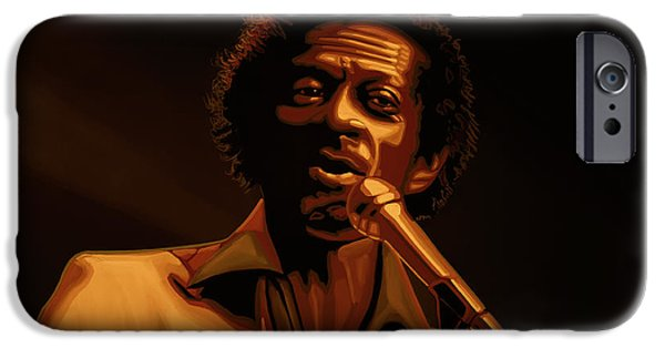 Chuck Berry Gold IPhone 6s Case by Paul Meijering