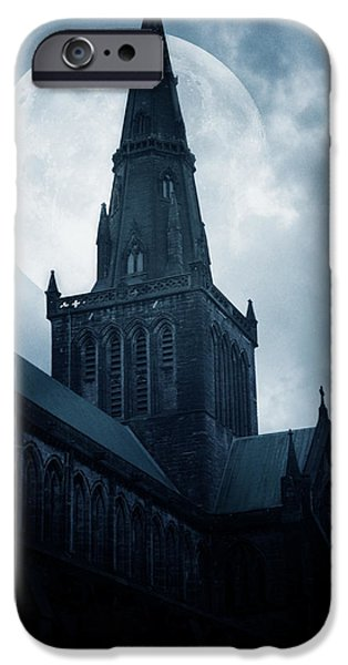 Moon iPhone 6s Case - Glasgow Cathedral by Cambion Art