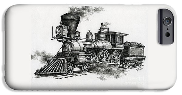 Train iPhone 6s Case - Classic Steam by James Williamson