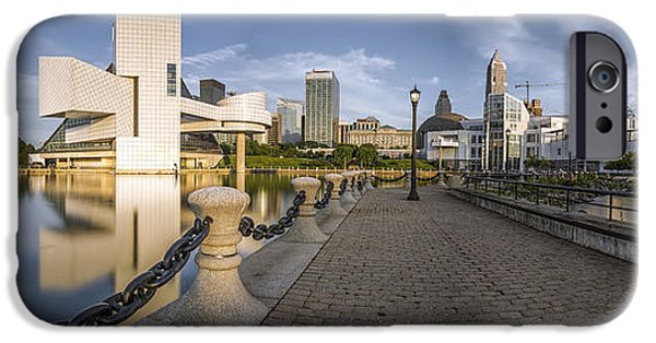 Cleveland Panorama IPhone 6s Case by James Dean