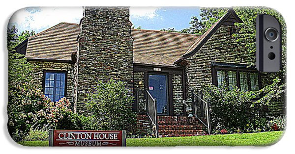 Clinton House Museum 1 IPhone 6s Case by Randall Weidner