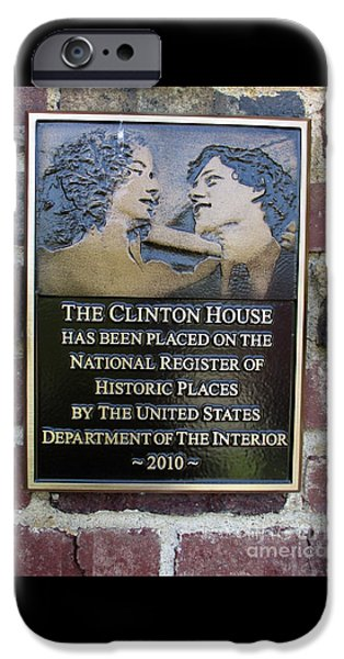 Clinton House Museum 2 IPhone 6s Case by Randall Weidner