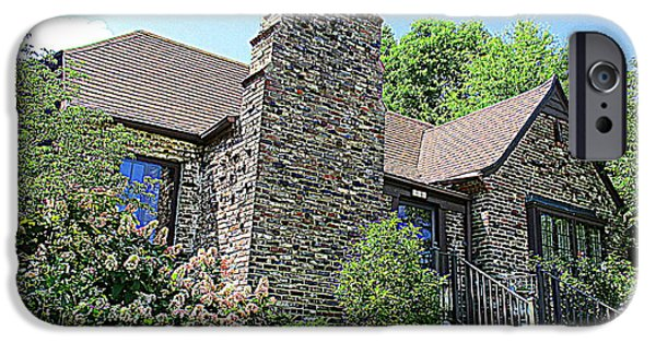 Clinton House Museum 3 IPhone 6s Case by Randall Weidner