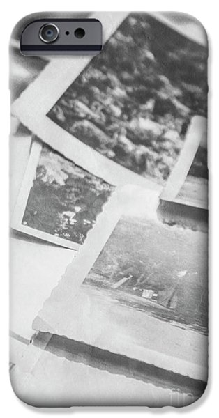 Close Up On Old Black And White Photographs IPhone 6s Case