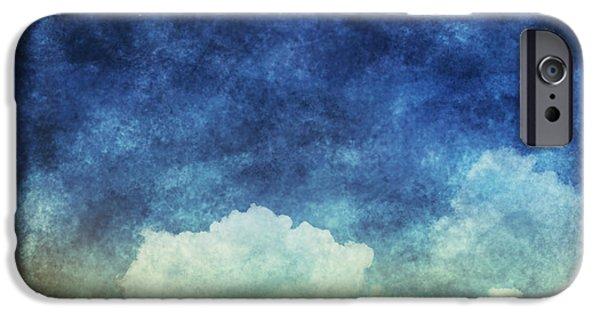 Cloud And Sky At Night IPhone Case by Setsiri Silapasuwanchai