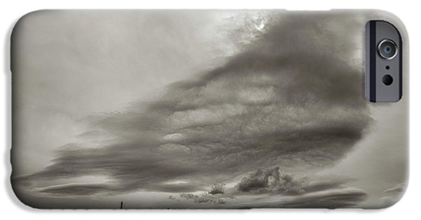 IPhone 6s Case featuring the photograph Cloudy Sky, Karakorum, 2016 by Hitendra SINKAR