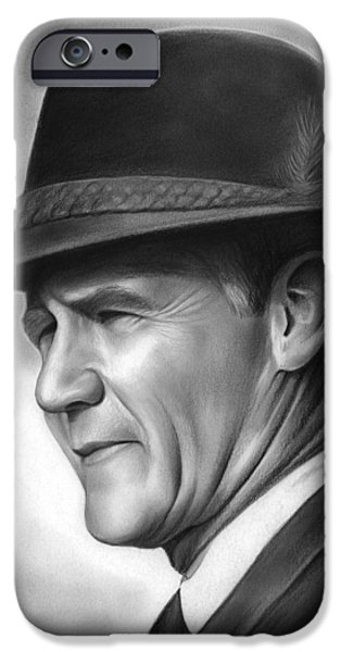 Dallas iPhone 6s Case - Coach Tom Landry by Greg Joens