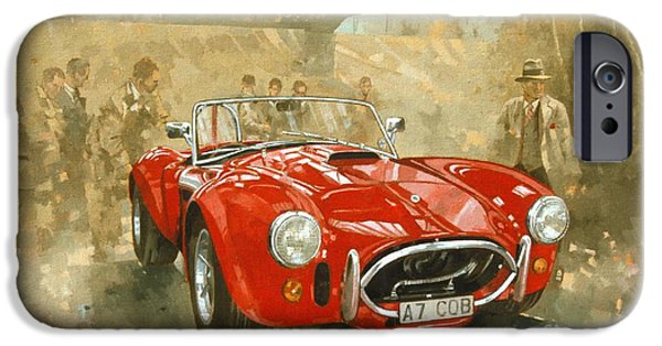 Car iPhone 6s Case - Cobra At Brooklands by Peter Miller
