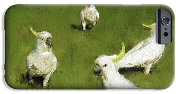 Cockatoo iPhone 6s Case - Cockatoo  by Simon Sturge