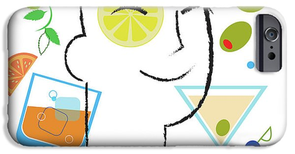 Cocktail Time IPhone 6s Case by Lisa Henderling