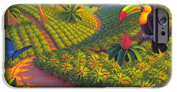 Coffee Plantation IPhone 6s Case
