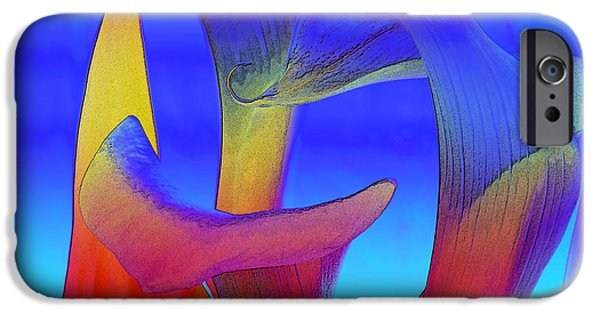 Colorful Crowd IPhone Case by Michelle Wiarda