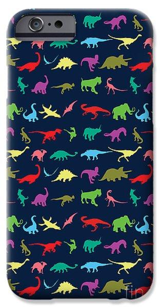 Colorful Mini Dinosaur IPhone 6s Case