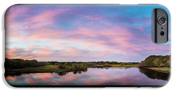Alligator iPhone 6s Case - Colorful Sky by Marvin Spates