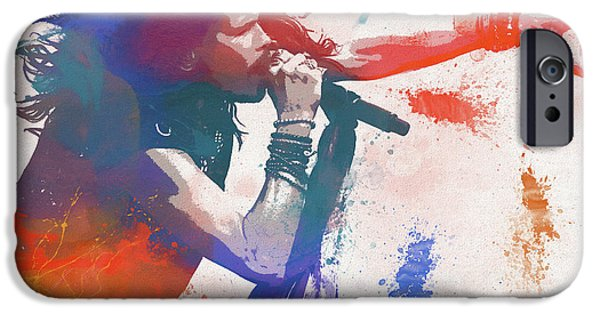 Colorful Steven Tyler Paint Splatter IPhone 6s Case