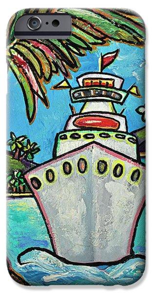 Cruise Ship iPhone 6s Case - Colors Of Cruising by Patti Schermerhorn