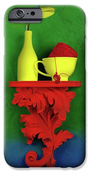 Tulip iPhone 6s Case - Colors by Tom Mc Nemar