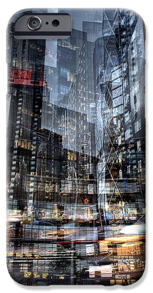Columbus Circle Collage 1 IPhone 6s Case