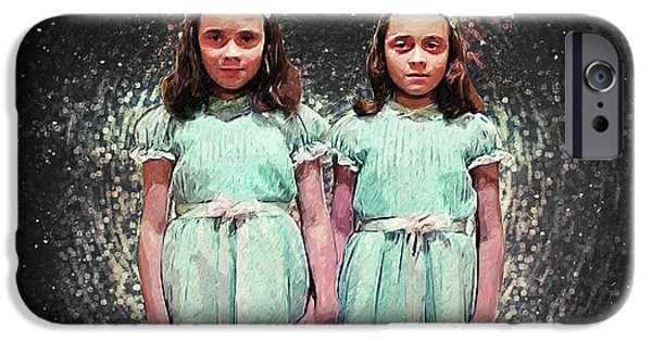 Come Play With Us - The Shining Twins IPhone 6s Case by Taylan Apukovska