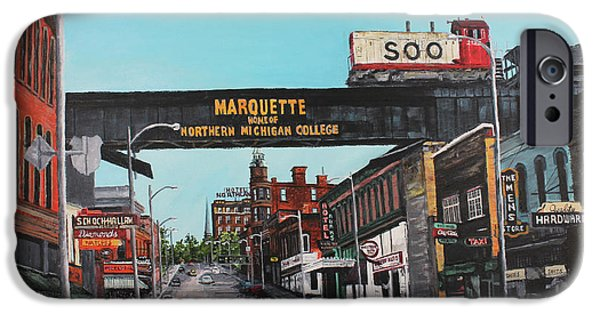 Marquette iPhone 6s Case - Coming Home by Tim Lindquist