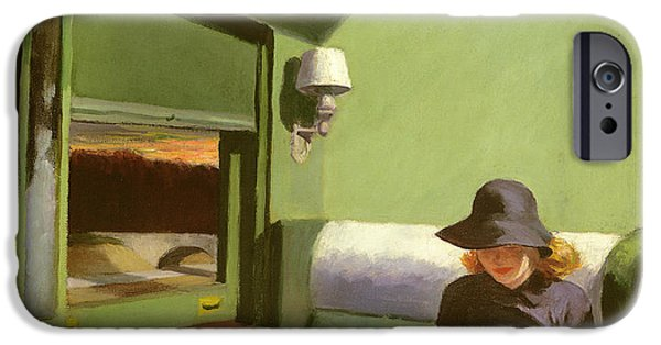 Compartment C IPhone 6s Case by Edward Hopper