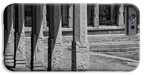 IPhone 6s Case featuring the photograph Composition Of Pillars, Hampi, 2017 by Hitendra SINKAR